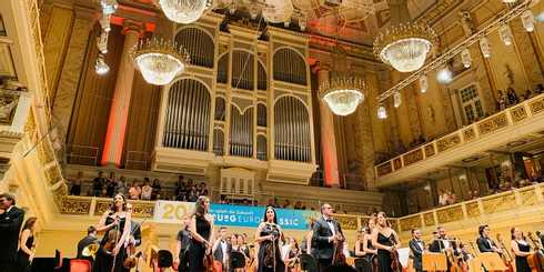 Classical Music went all over in Berlin